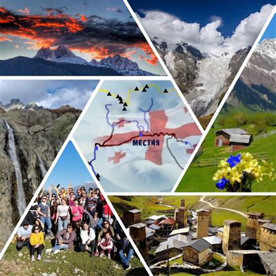 One day trekking in Svaneti